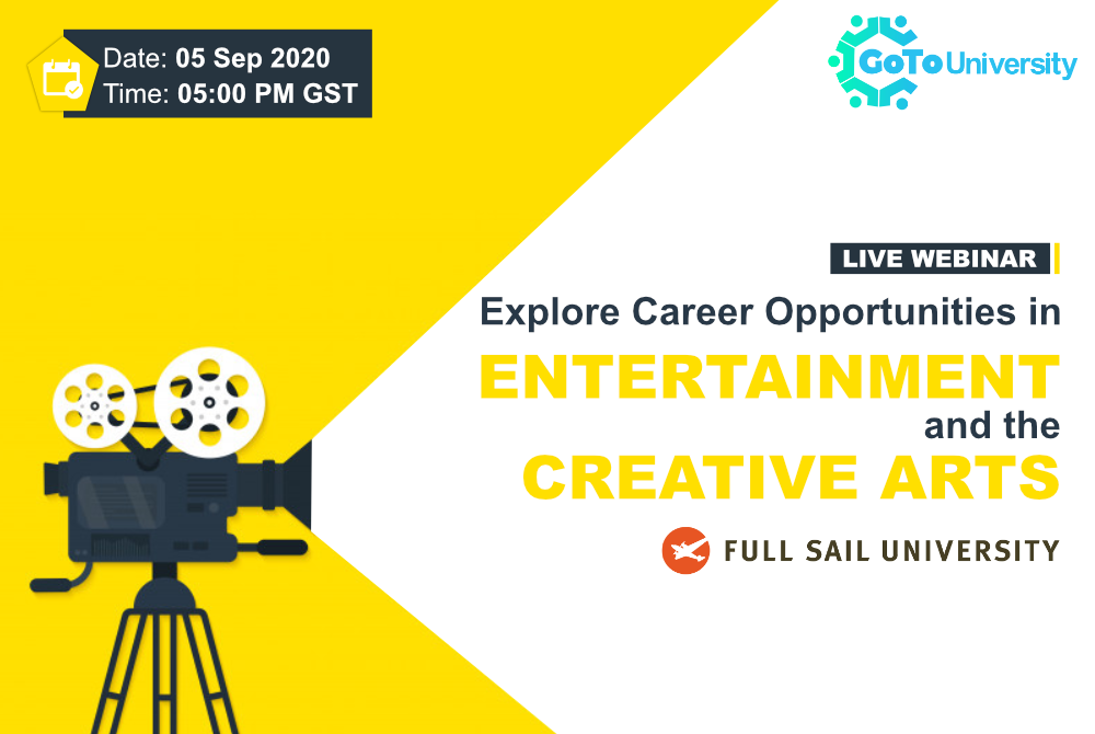 Full Sail University - career in Entertainment and the creative arts